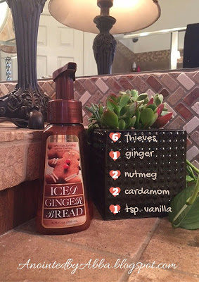Redo a healthy version of Iced Gingerbread handsoap