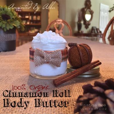 100% Organic Cinnamon Roll Body Butter