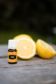 young living lemon oil and thieves cleaner to the rescue