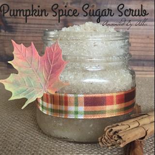 100% Organic Pumpkin Spice Latte Sugar Scrub