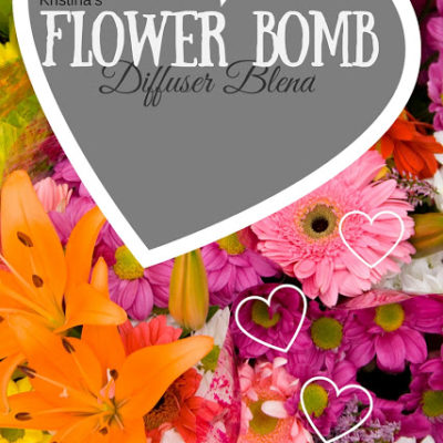 Kristina's Flower Bomb diffuser recipe and other love & healing inspired recipes…