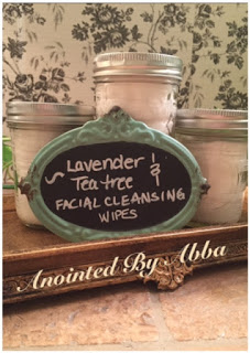 DIY Lavender Tea Tree Facial Cleansing Wipes Anointed By Abba
