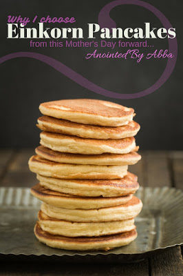 Healthy(er) Buttermilk Pancakes