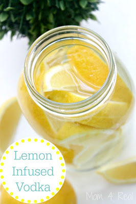 Quickie lemon infused vodka :-)