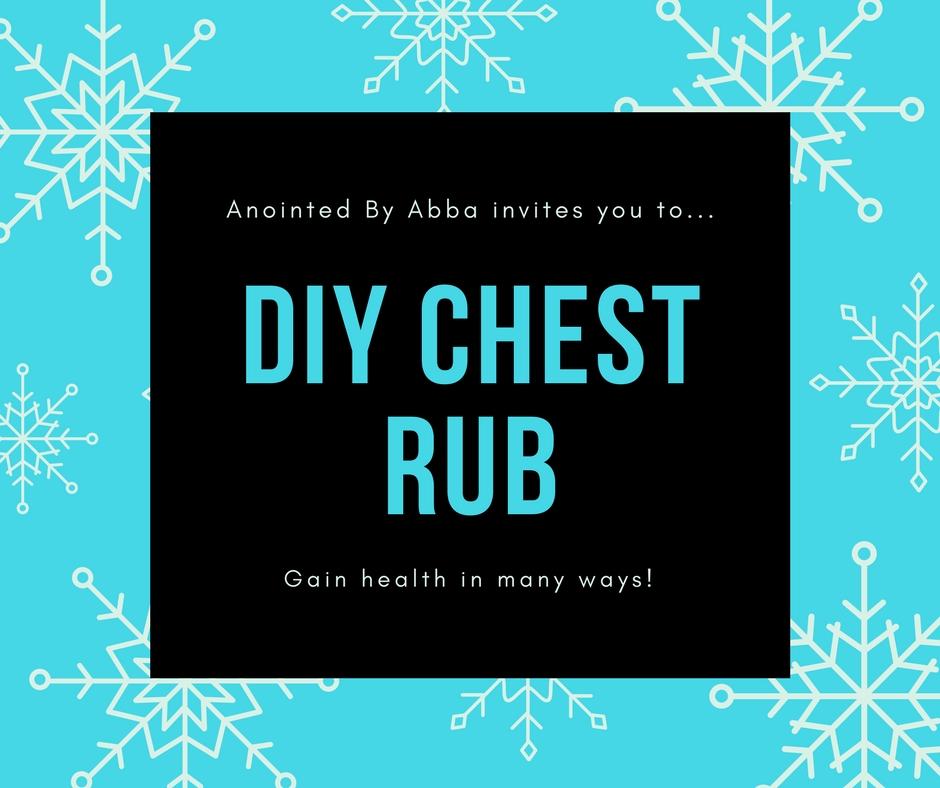 DIY chest rub