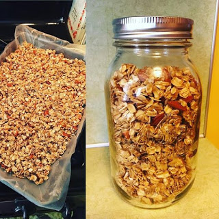 Torey's Homemade Granola with Thieves Essential Oil