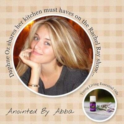 Daphne Oz shares why Young Living lavender is a kitchen must-have…