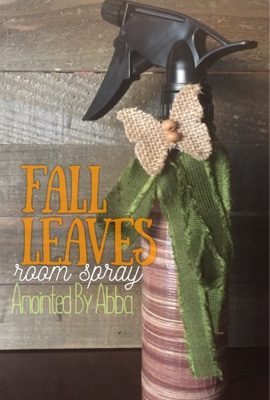 Room Spray – Fall Leaves