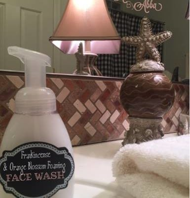 Frankincense and Orange Blossom Foaming Face Wash