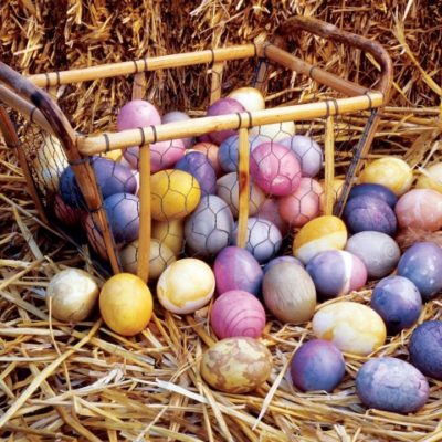 Natural Easter Egg Coloring – Alternative Dye Ideas