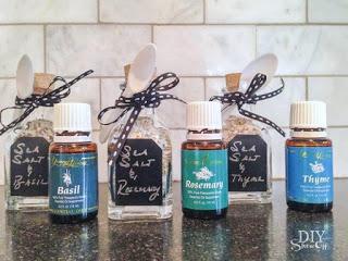 Gift Worthy Seasoned Salt DIY