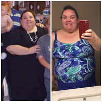 Carrielynn's inspirational weight loss