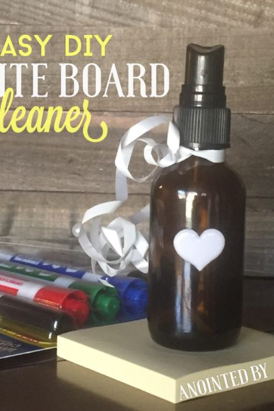 DIY Non toxic Whiteboard Cleaner!