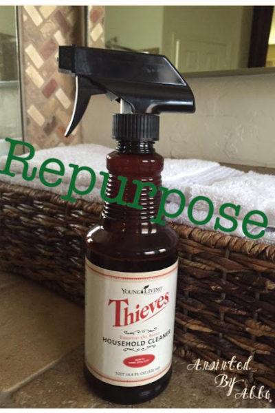 Repurpose Thieves Cleaner bottles!