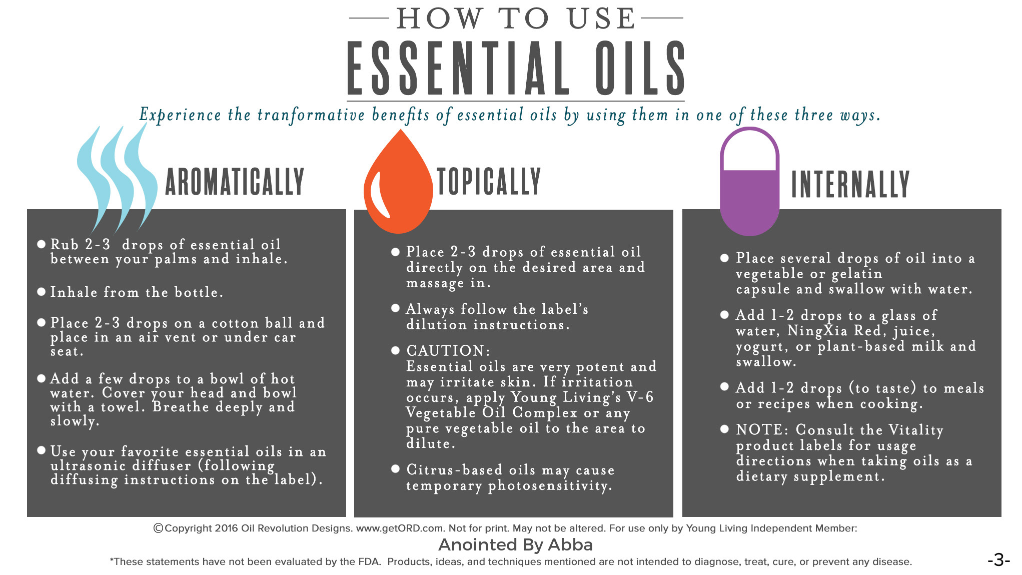 how to use oils mrhsxc