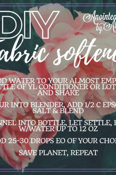 diy non toxic fabric softener