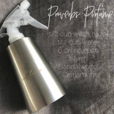 Proverbs Perfume
